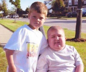 Watching his best friend, Carter Kettner, right, grow sick and die of cancer at age 6 fuels Ben Keaty in his quest to honor Carter by finishing a cancer run.